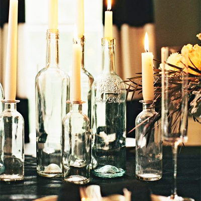Decorating with Bottles