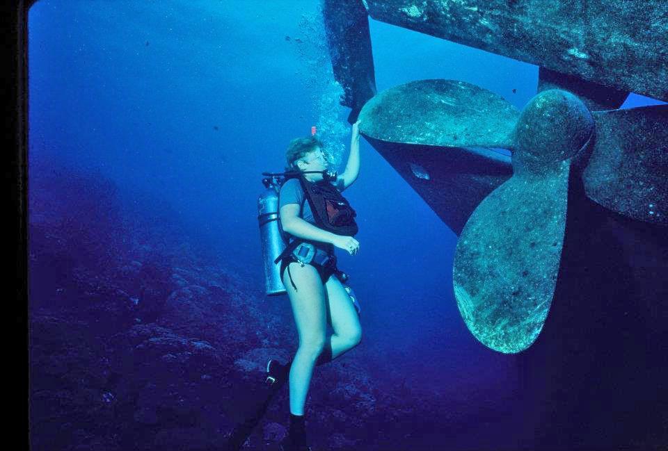 Maryann Carey - Bonaire on the Helma Hoocker