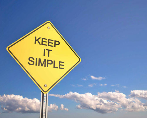 K.I.S.S. – Keep It Simple Snapper