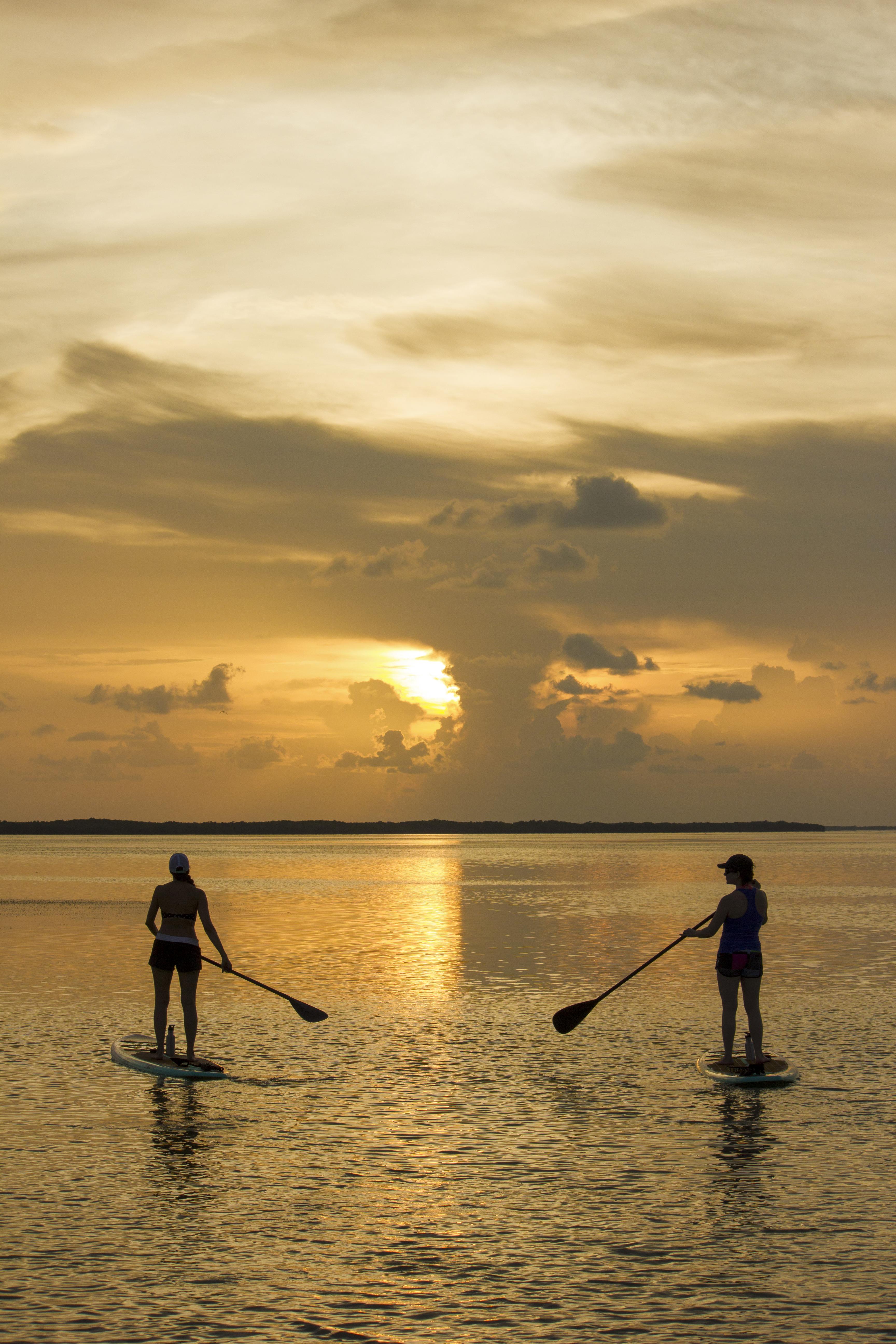 A Sunset in Balance