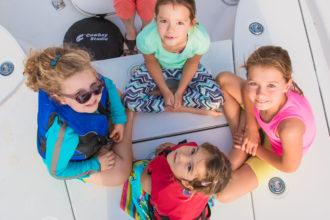 Teaching kids to boat-Island Jane Magazine