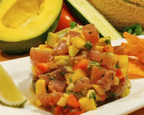 Is it safe to eat island sashimi (raw tuna)?