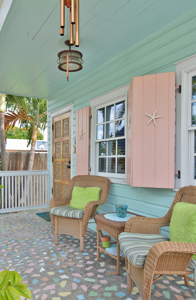 The Color For Blue Porches Island Jane Magazine